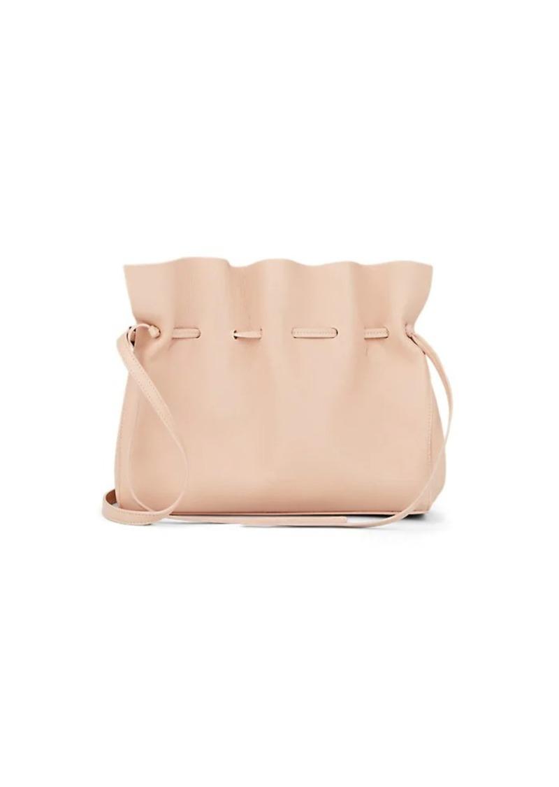 Mansur Gavriel Women s Protea Leather Drawstring Shoulder Bag - Pink 892311cb0775c