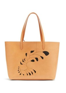 Mansur Gavriel X Calder large leather tote bag