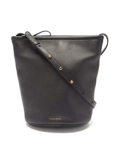 Mansur Gavriel Zip Bucket medium leather shoulder bag