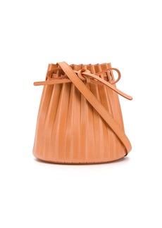 Mansur Gavriel Plisettata pleated bucket bag