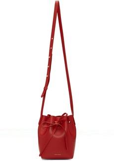 Mansur Gavriel Red Mini Mini Bucket Bag