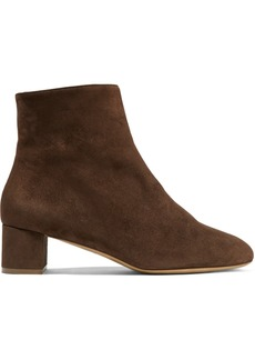 Mansur Gavriel Shearling-lined Suede Ankle Boots