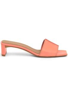 Mansur Gavriel square toe leather sandals