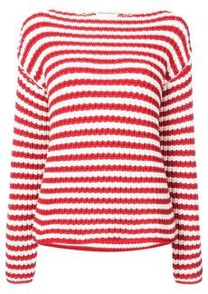 Mansur Gavriel striped boatneck sweater