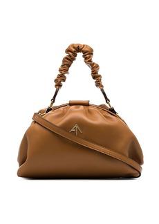 MANU Atelier Demi ruched shoulder bag