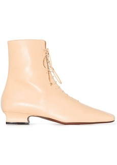 MANU Atelier Duck 30mm lace-up boots