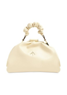 MANU Atelier Ruched Demi Leather  Bag