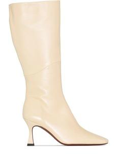 MANU Atelier Duck 80mm knee-high boots