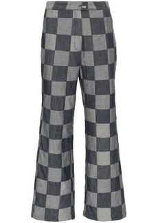 Mara Hoffman Arlene Straight-Leg Denim Trousers
