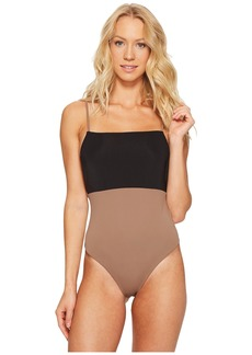 Mara Hoffman Color Block Combo One-Piece
