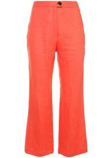 Mara Hoffman crop flared trousers
