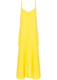 Mara Hoffman diana button-down maxi dress