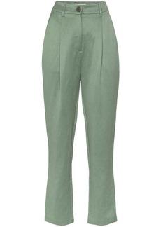 Mara Hoffman Dita straight-leg trousers