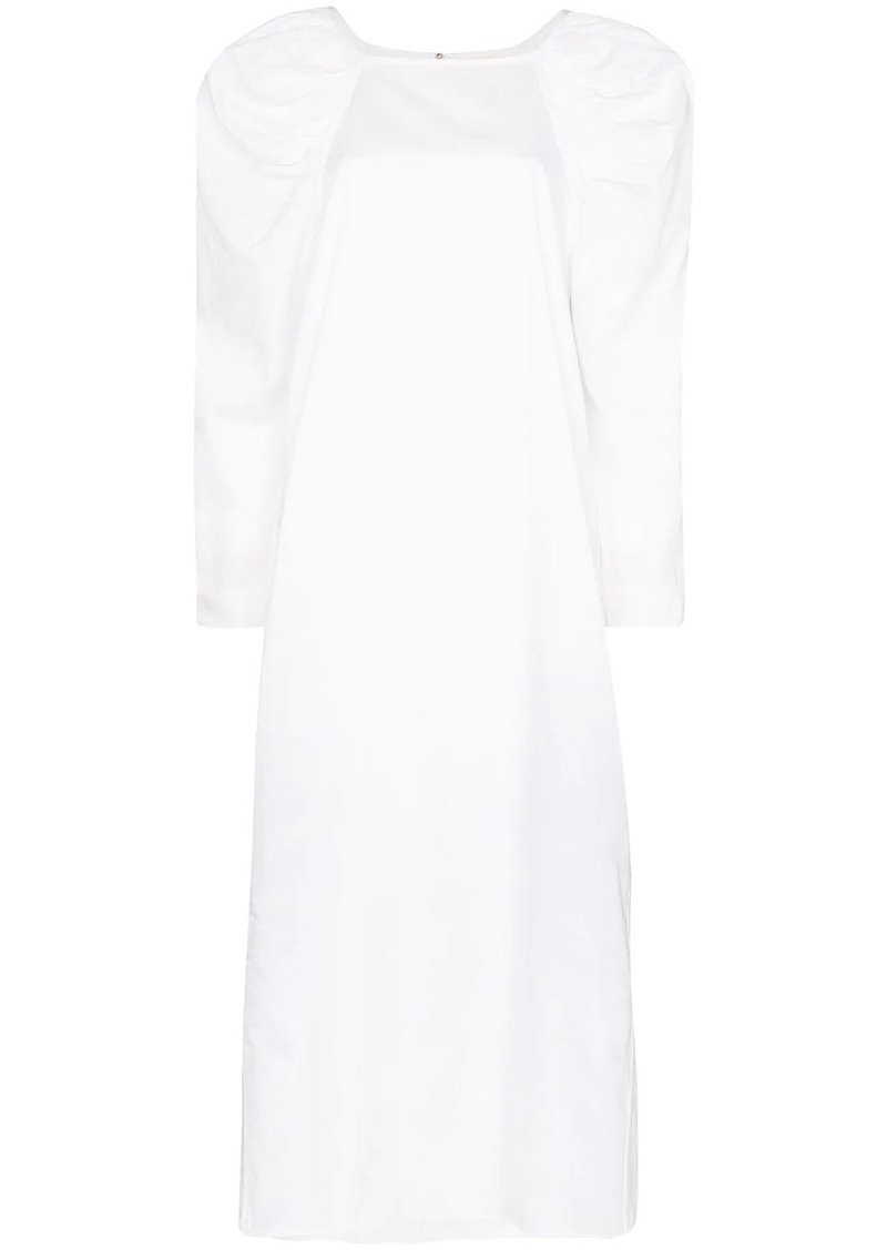 Mara Hoffman Elisabetta pouf sleeve dress