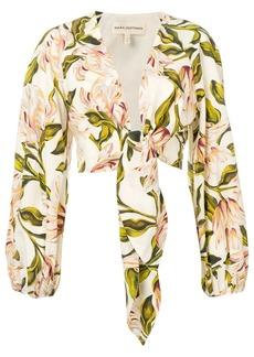 Mara Hoffman floral print shirt