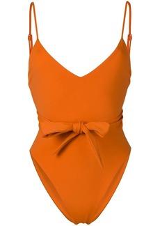 Mara Hoffman Gamela bow-embellished swimsuit