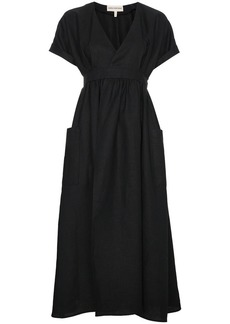 Mara Hoffman Ingrid Wrap Midi Dress