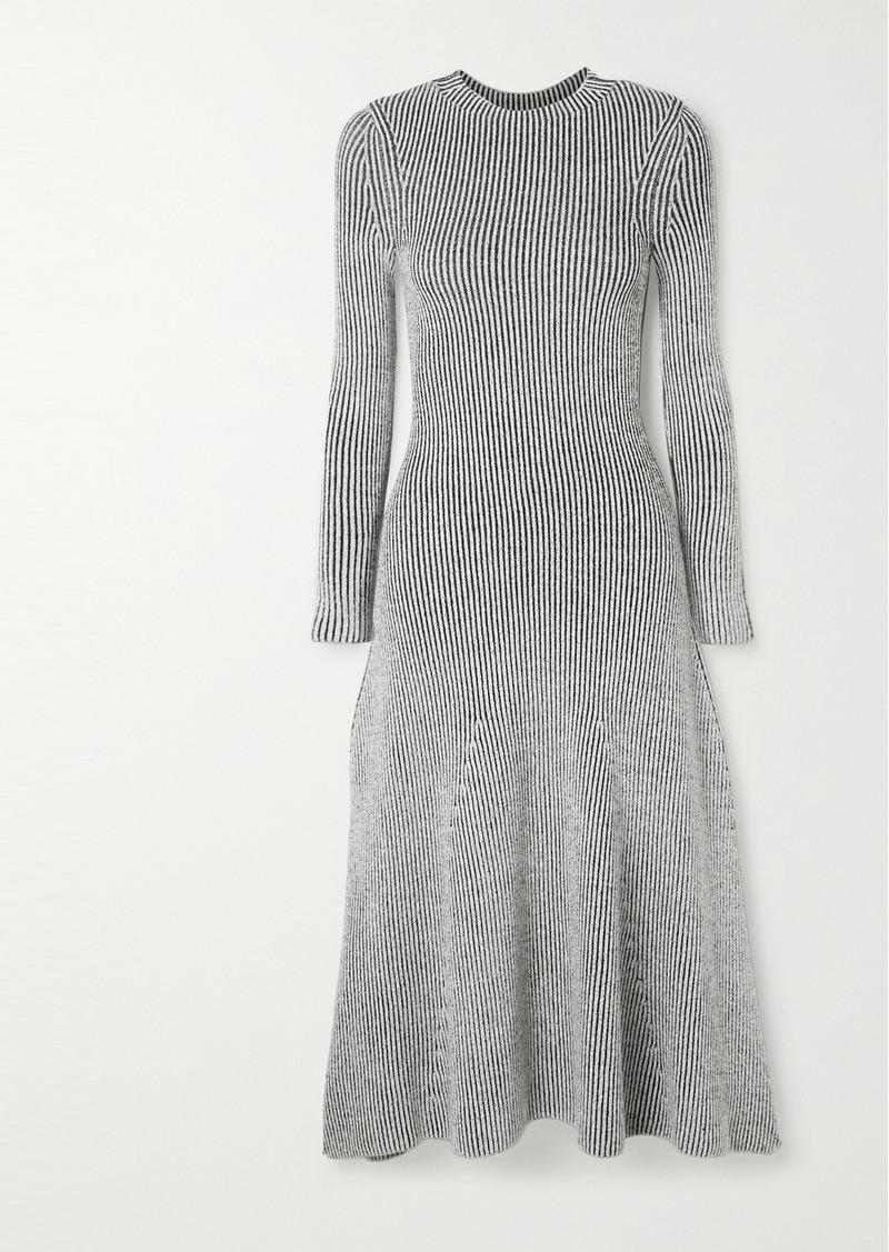 Mara Hoffman Jasmine Ribbed Stretch-modal Midi Dress