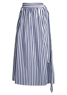 Mara Hoffman Katrine Striped Coverup Skirt