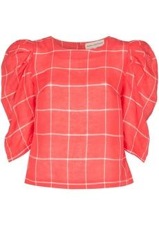 Mara Hoffman Katya puff sleeve blouse
