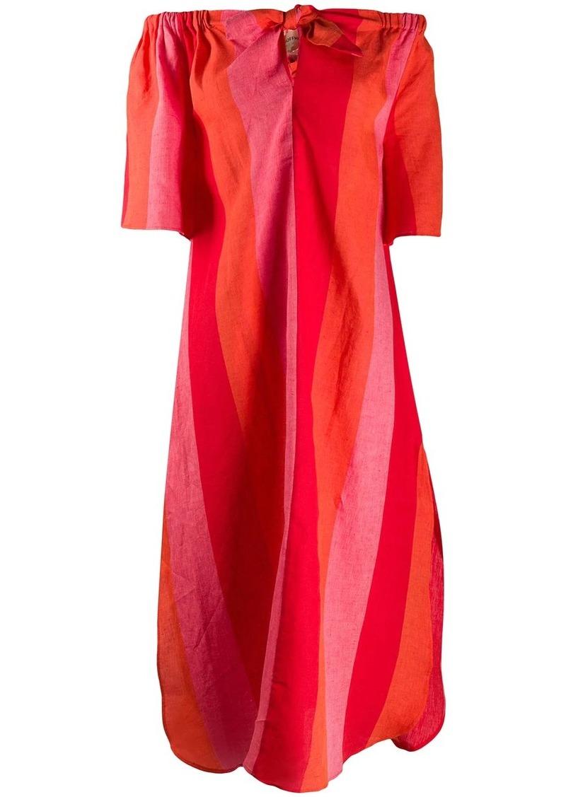 Mara Hoffman knot detail Kamala dress