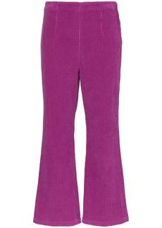 Mara Hoffman Lucy high waist corduroy trousers