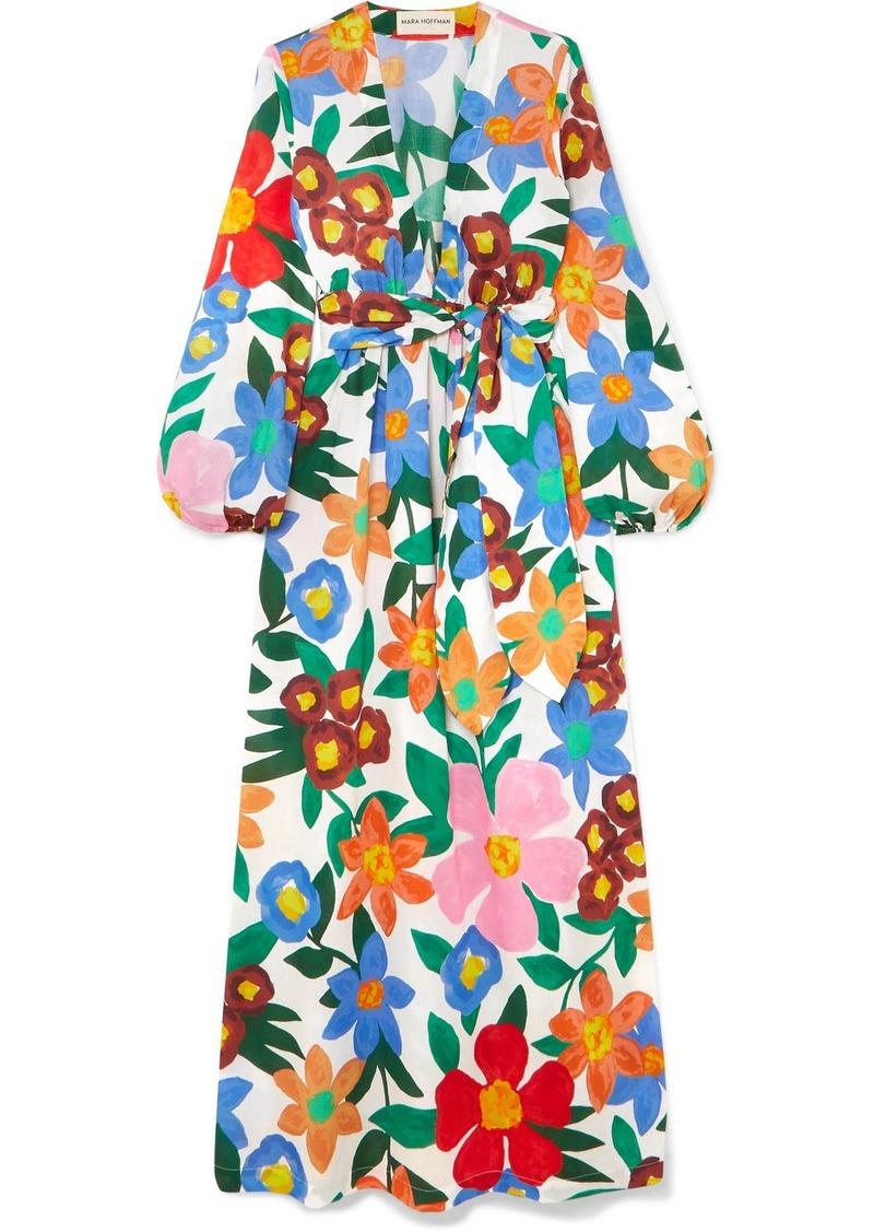 Mara Hoffman Luna Floral-print Organic Cotton Maxi Dress