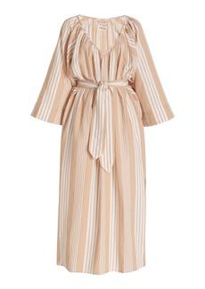 Mara Hoffman - Women's Luz Striped Tencel-Cotton Maxi Dress - Neutral - Moda Operandi