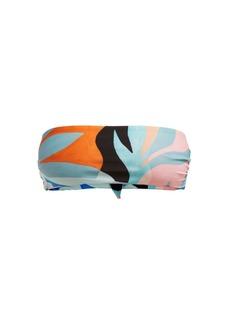 Mara Hoffman Abigail agave-print bandeau bikini top