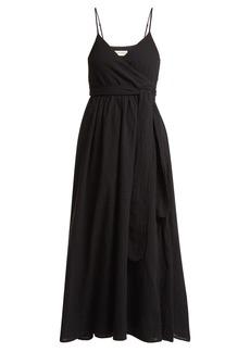 Mara Hoffman Alma cotton wrap dress