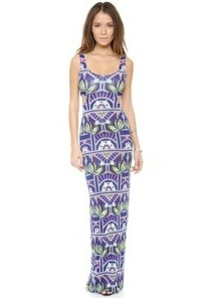 Mara Hoffman Ananda Cut Out Maxi Dress