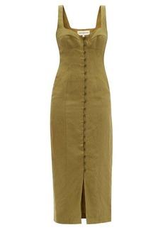 Mara Hoffman Angelica buttoned midi dress