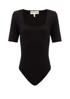 Mara Hoffman Arete square-neck Tencel-blend bodysuit