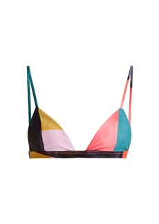 Mara Hoffman Astrid triangle bikini top