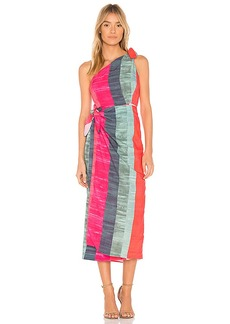 Mara Hoffman Bette Dress in Pink. - size S (also in L,M,XS)