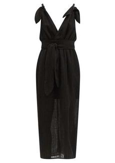 Mara Hoffman Calypso organic-linen blend cocoon dress