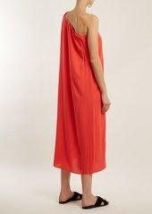 Mara Hoffman Camilla one-shoulder dress