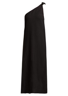 Mara Hoffman Camilla organic-cotton one-shoulder dress