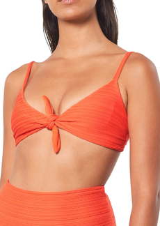 Mara Hoffman Carla Tie Bikini Top