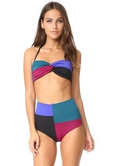 Mara Hoffman Chey Bandeau Bikini Top