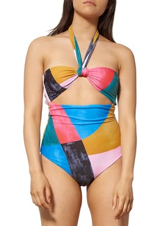Mara Hoffman Cleo Cutout One-Piece Swimsuit