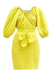 Mara Hoffman Coletto organic-cotton-blend wrap dress