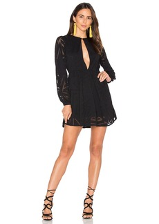 Mara Hoffman Compass Burn Out Mini Dress