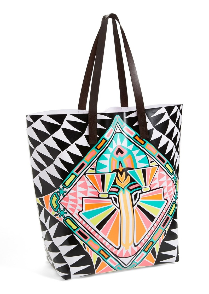 Mara Hoffman 'Cosmic Fountain' Leather Handle Tote