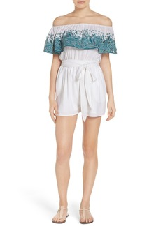 Mara Hoffman Cover-Up Romper
