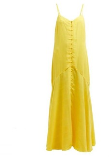Mara Hoffman Diana twill maxi dress