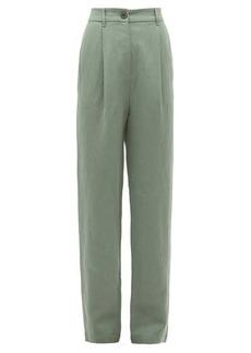 Mara Hoffman Dita high-rise twill trousers