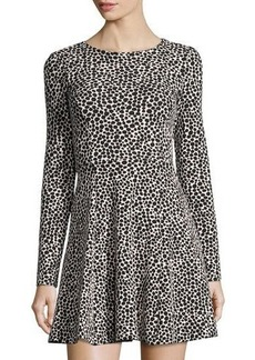Mara Hoffman Dotted Fit & Flare Dress