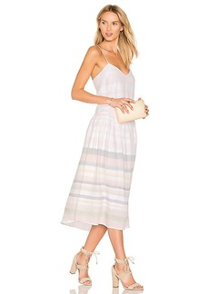 Mara Hoffman Drop Waist Midi Dress in Pink. - size 2 (also in 4,6)