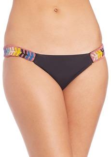 Mara Hoffman Embellished Side Strap Bikini Bottom
